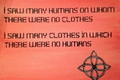 I saw many humans-Rumi
